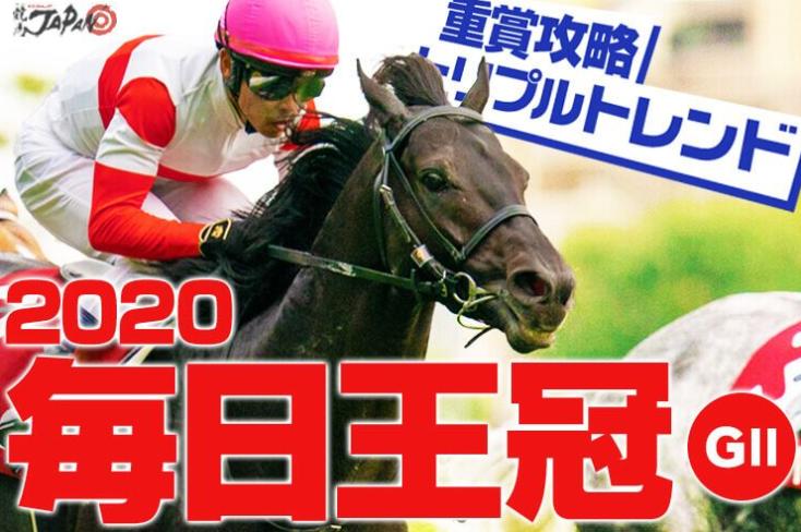 2020年第71回毎日王冠出走予定馬・過去の成績